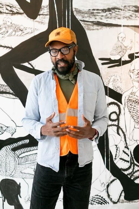 Atlanta artist William Downs July 2020