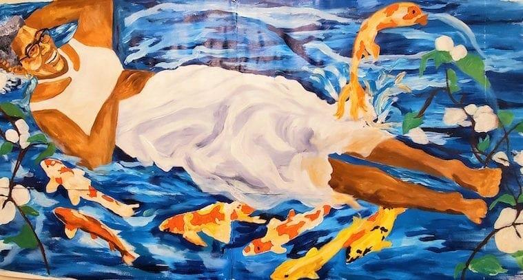 ATL1000 Fish mural