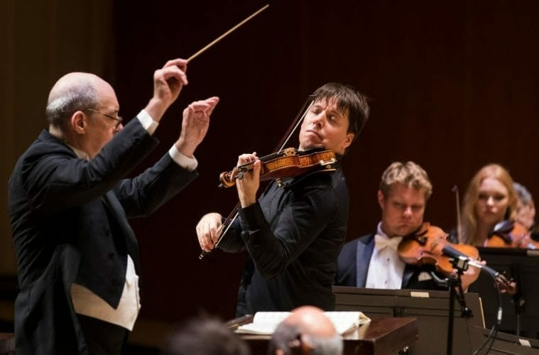 Joshua Bell with the Atlanta Symphony Orchestra