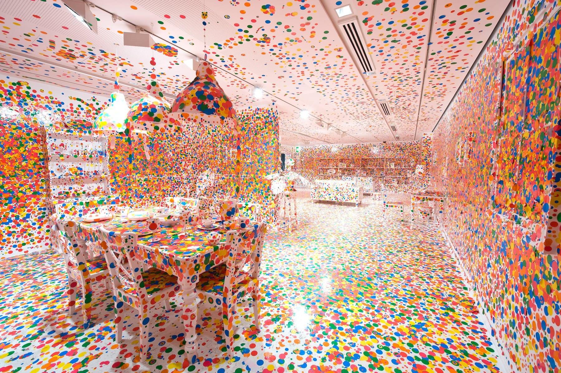 Yayoi Kusama, The Obliteration Room, 2002 to present
