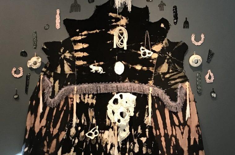 mixed-media artwork by artist Zipporah Camille Thompson