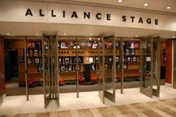 Alliance Theatre doors