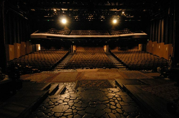 Atlanta's Alliance Theatre has been empty since the pandemic hit.