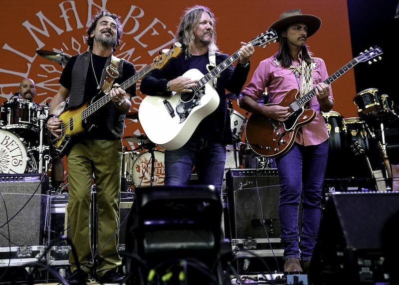 The Allman Betts Band by Perry Julien