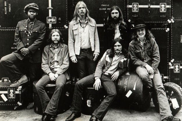The Allman Brothers Band put Georgia on the map as a music recording hub.