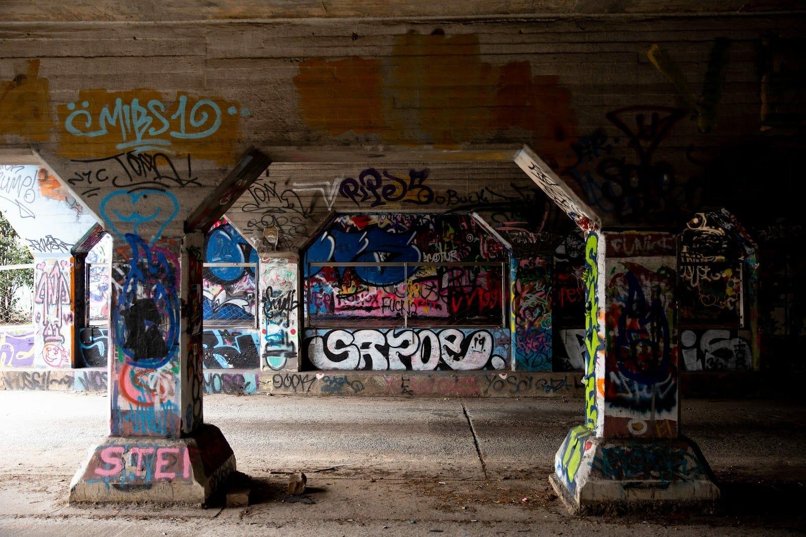 The Krog Tunnel in Cabbagetown.