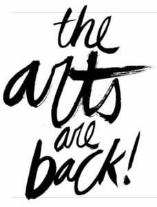 The Arts Are Back logo