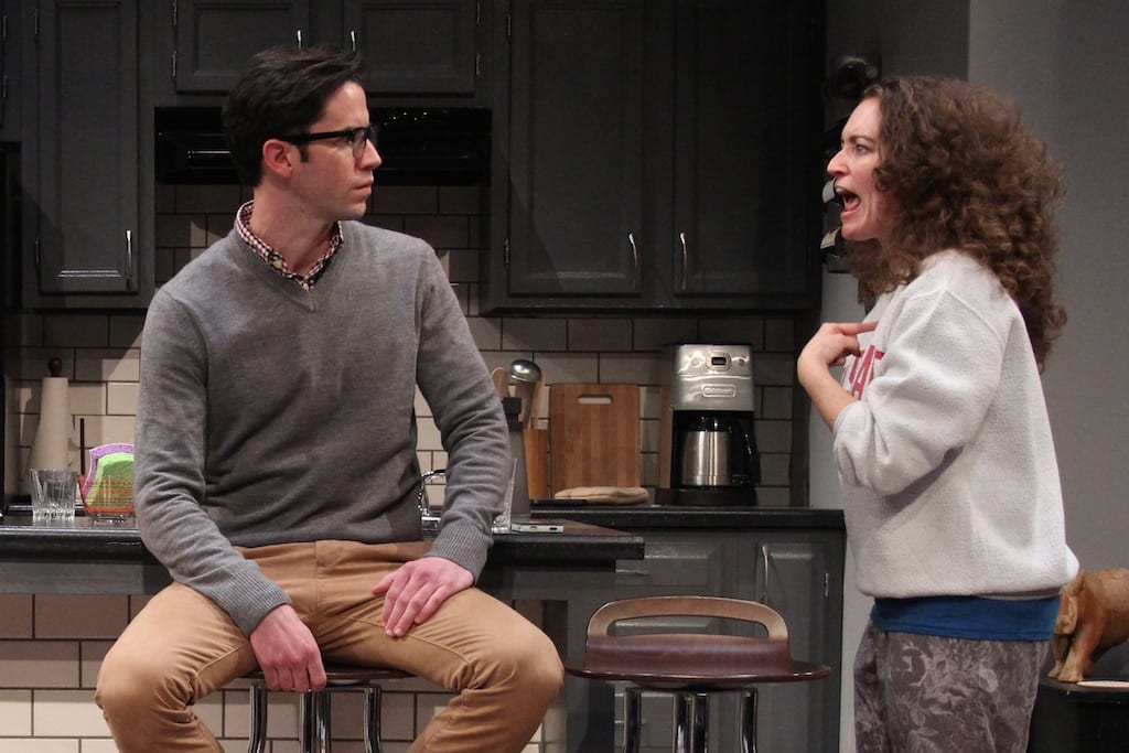Wyatt Fenner and Galen Crawley in Bad Jews. (Photos by BreeAnne Clowdus)