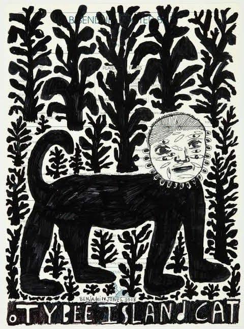"""""""Tybee Island Cat"""" by Benjamin Jones."""