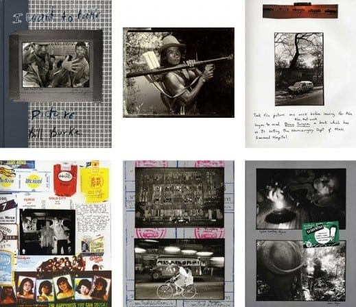 """Pages from Bill Burke's book, I Want Take Pictures."""""""