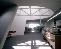 Interior of Ida Williams branch library