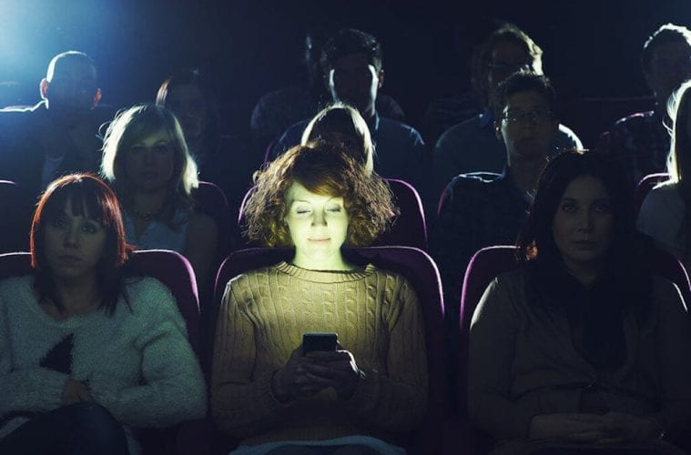 Can't we please just put away our cell phones and enjoy the show?