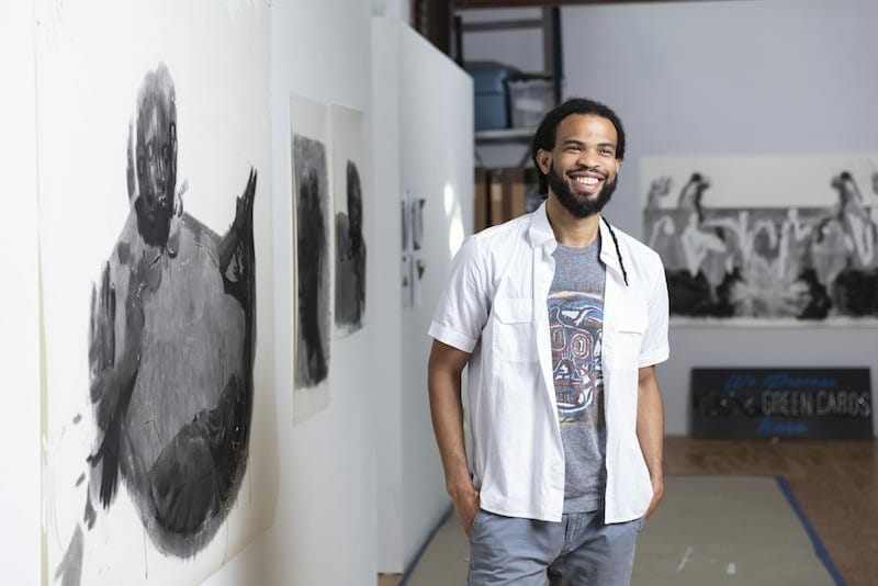 Atlanta artist Cosmo Whyte