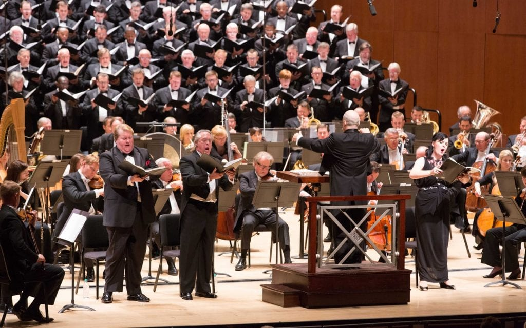 """The ASO has a long legacy with Britten's """"Requim."""" (Photo by Jeff Roffman)"""