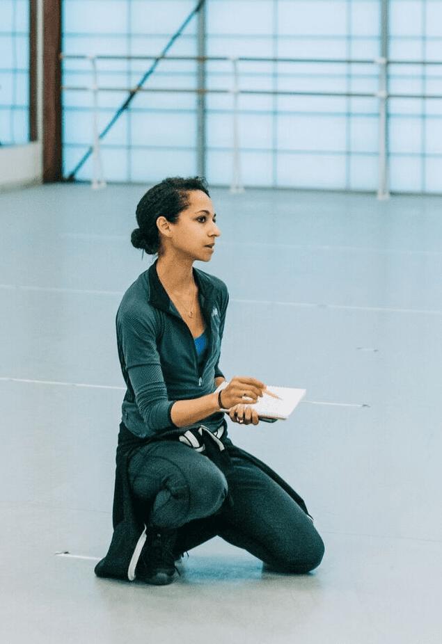 Atlanta Ballet choreographer-in-residence Claudia Schreier.
