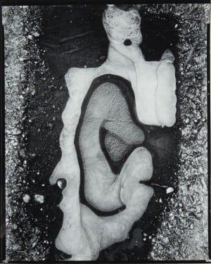 Brett Weston: Ice Formation, 1955, vintage gelatin silver print.
