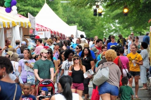 The Decatur Book Festival is the largest in the country.