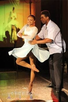 Gilreath and Lucas met in New York when both where at Dance Theatre of Harlem.