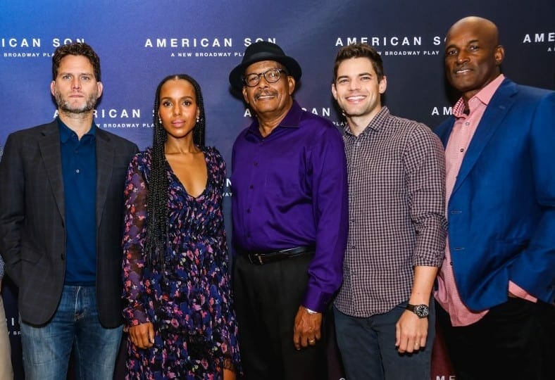 "Kenny Leon and ""American Son"" cast."