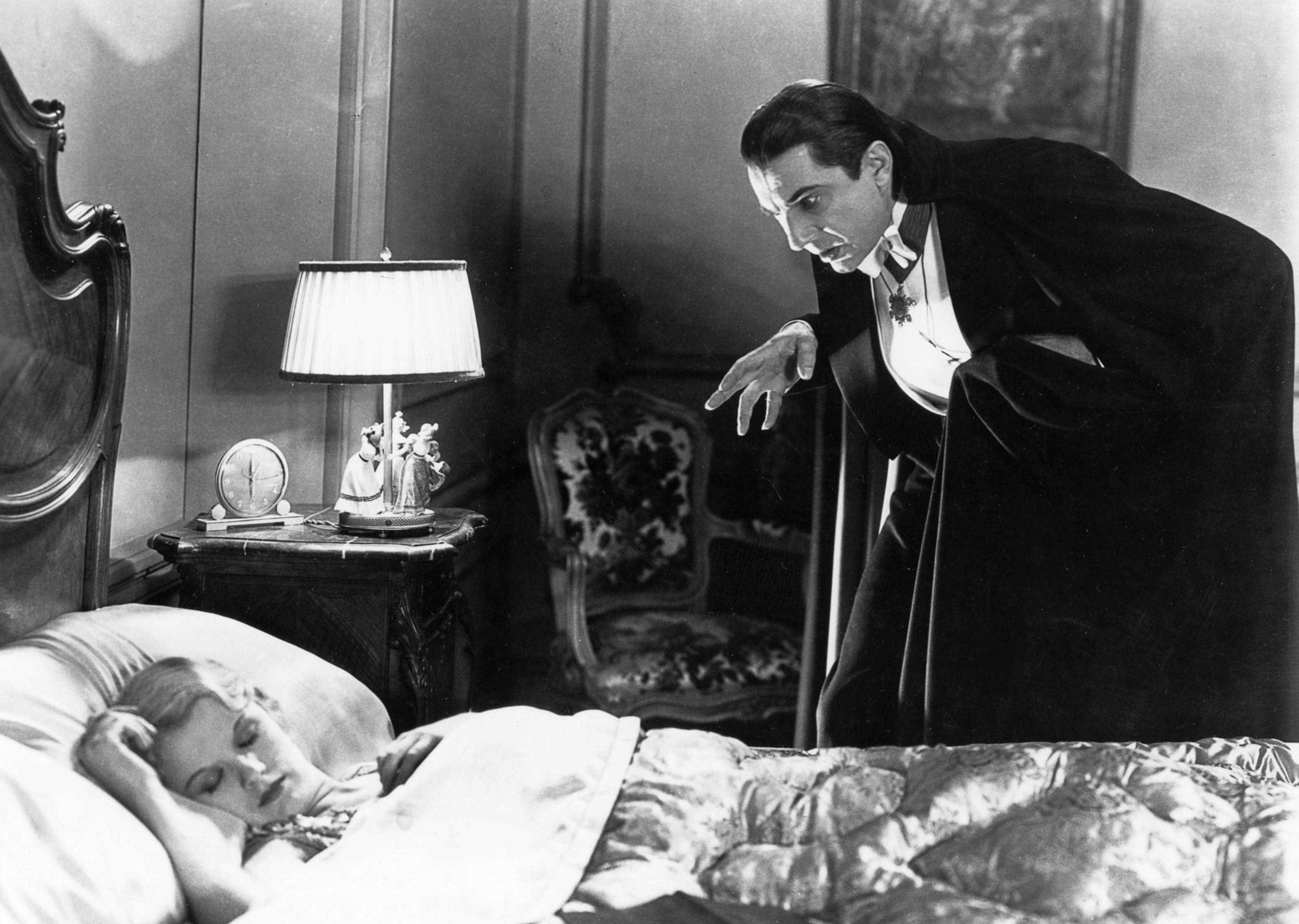 Bela Lugosi in the 1931 version of Dracula.