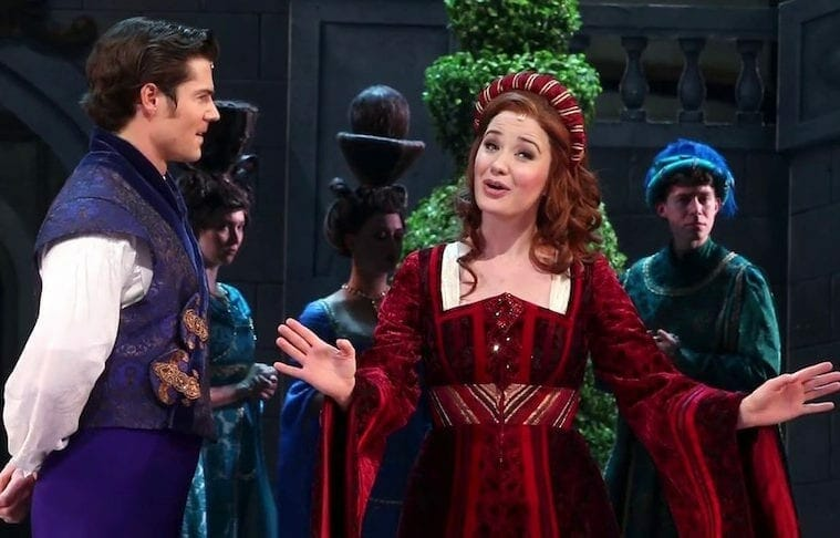Sierra Boggess in the Alliance's EVER AFTER 2019