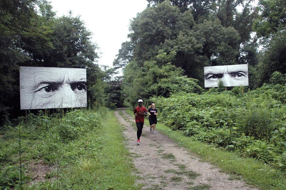 "Gregor Turk. ""Apparitions: 2013 - 2014"" Funded by Atlanta Celebrates Photography and Art on the BeltLine. Image courtesy the artist."