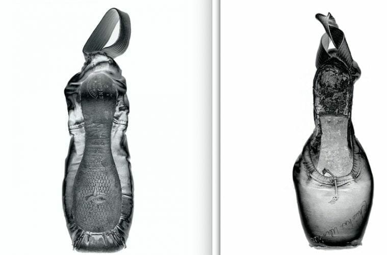 Ballerina pointe shoes by Charlie Mccullers.