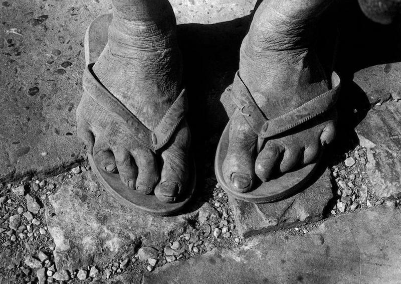 """Lucinda Bunnen's """"Feet."""""""