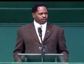 Atlanta performer Stephon Ferguson channels Dr. Martin Luther King, Jr.