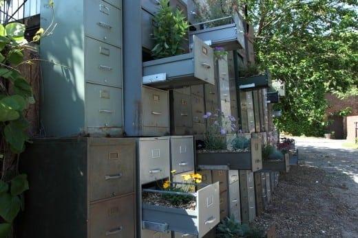 David Baerwalde's ecofiling cabinets