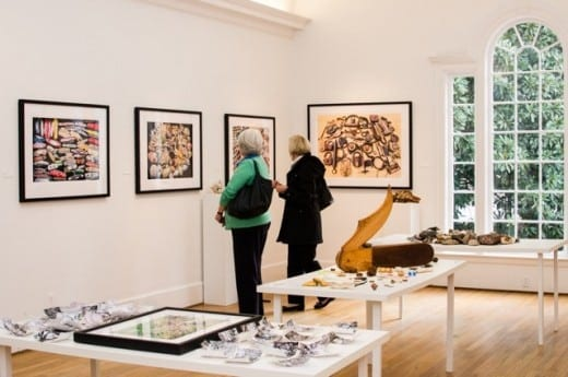 View of Collections at Swan Coach House Gallery. (Photo by Virginie Kippelen)
