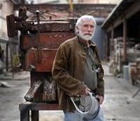 Sculptor George Beasley will be honored.