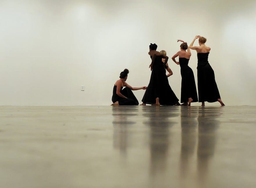 The glo performance at MOCA was part of a nine-week program. (Photo by Amy Kicklighter)