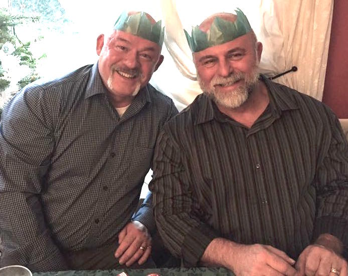 Graham Kerr and Bobby Box