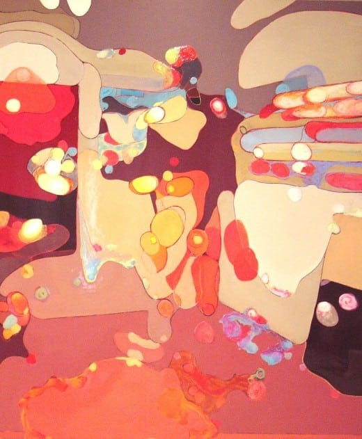 "William Mize: ""Artist"" Acrylic on wood"