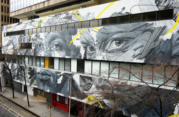 Living Walls mural by Hopare