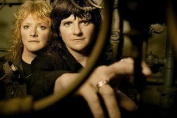 The Indigo Girls in a publicity photo.