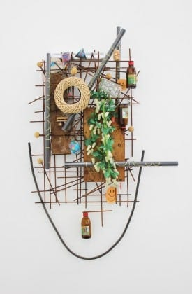 Jack Lavender: Hannah, 2012m mixed media, found objects. Collection Michael I. Jacobs