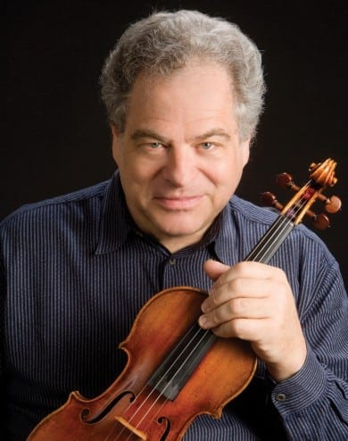 Itzhak Perlman was one of the early champions of Spivey Hall.