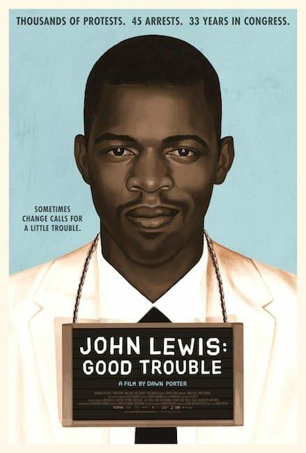 """John Lewis: Good Trouble"" poster July 2020"