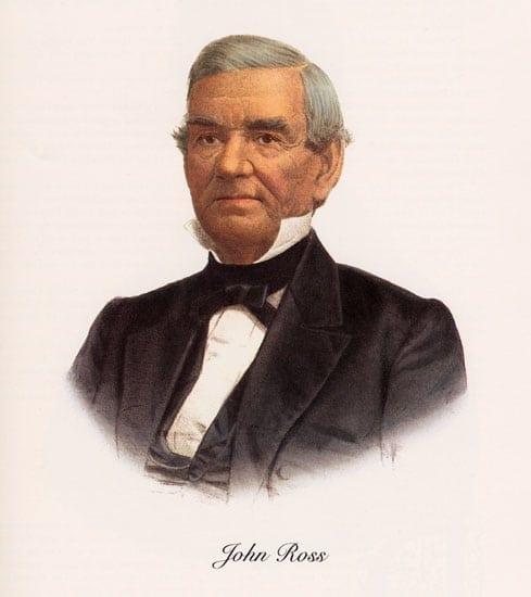 Cherokee leader John Ross.