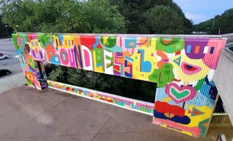 MARTA Artbound Kensington mural july 2021