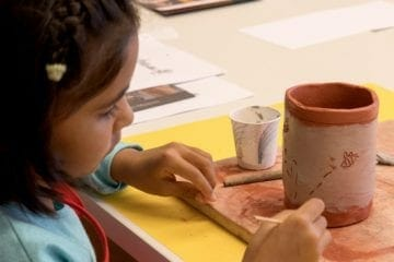 Artful Escape for kids include online art classes