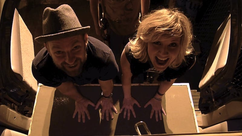 Bush and Jennifer Nettles are the core of Sugarland. (Photo by Whitney Pastorek)