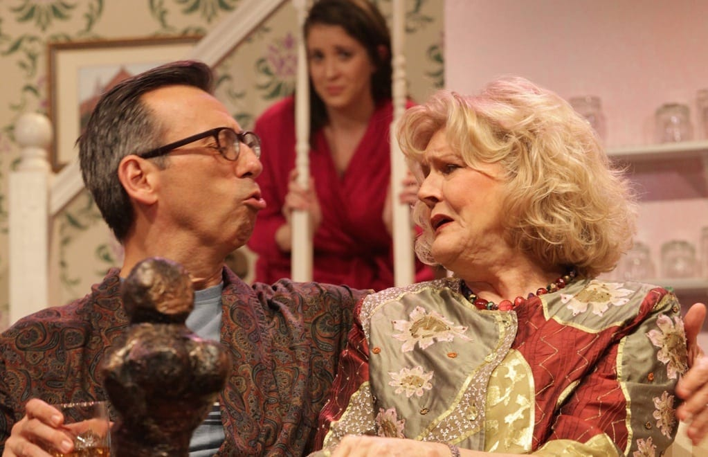 Mark Cabus and Karen Howell gamely try to do a lot with a little. (Photo by Dan Carmody/Studio 7)