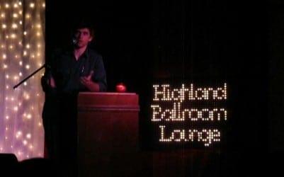 Scott Daughtridge, Highland Ballroom Lounge