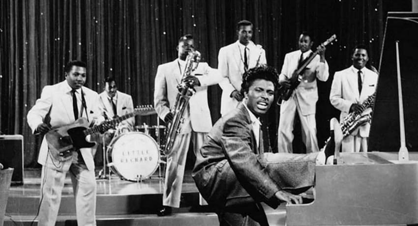Little Richard with The Upsetters