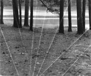 "Stephanie Dowda: ""Longest Day of Light,"" (2016). 43"" x 51"", archival print, framed. Image courtesy Whitespace Gallery."