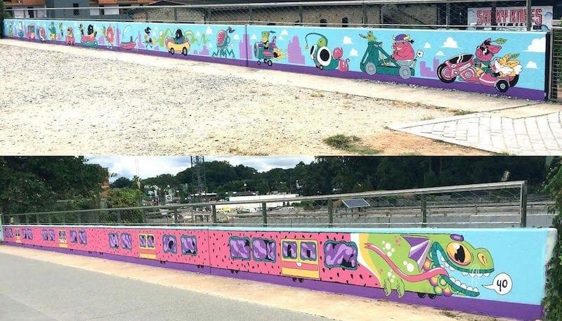 Lotus Eaters murals for app