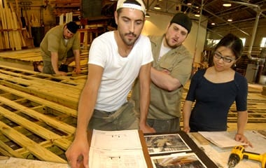 Clowdus oversees the stage design for Serenbe's first production, The Jungle Book.